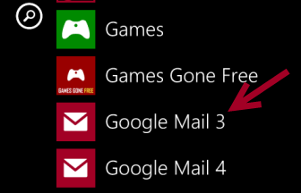 windows phone 8 email