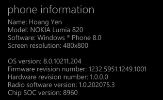 windows phone 8 portico update
