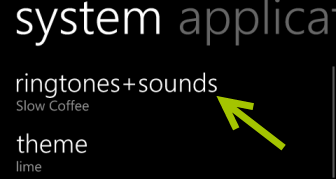 windows phone 8 ringtones sounds