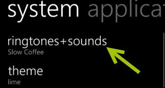 windows phone 8 ringtones sounds