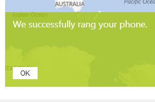ring windows phone 8 remotely
