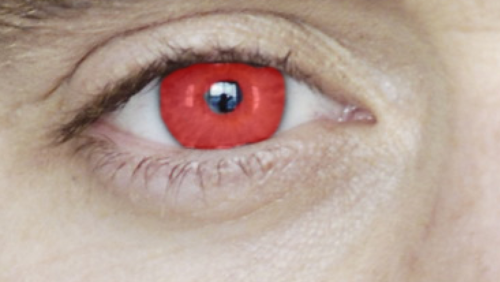 natural eye color red Gallery