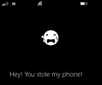 remotely send message to windows phone 8