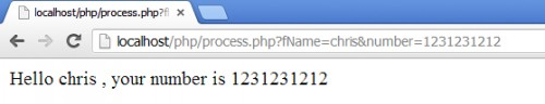 HTML PHP form get method