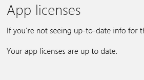 windows 8 sync license success