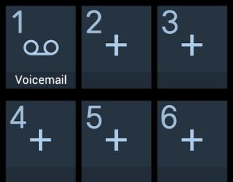 configure speed dial