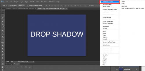 Photoshop CS6: Add Depth to Objects Using a Drop Shadow