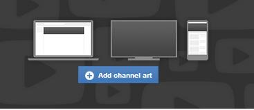 add YouTube channel art