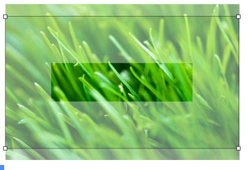 YouTube banner crop