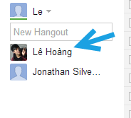 google hangout call a friend