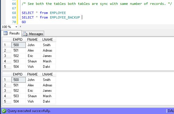 SQL Server: Coding the After Insert Trigger in SQL Server
