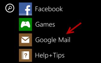 windows phone 8 email