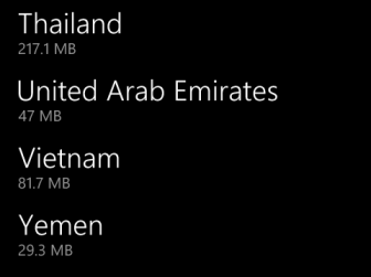 windows phone 8 download country map offline