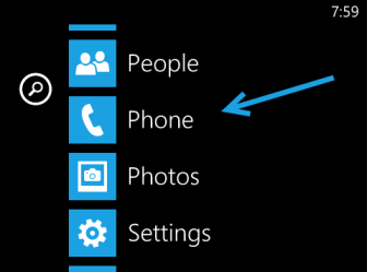 windows phone 8 phone setting