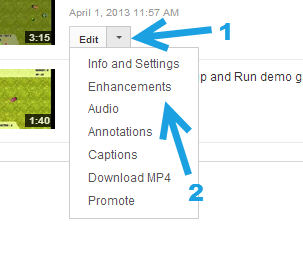 youtube enhancements video