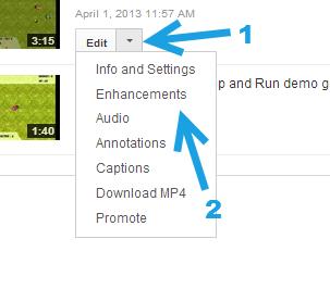 youtube enhancements video