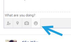 facebook update status