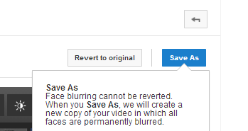 save the edited video as a new one