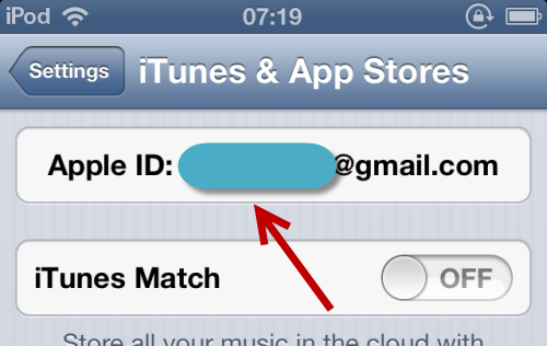 Apple ID settings