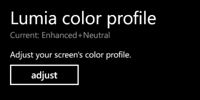 windows phone 8 lumia color profile