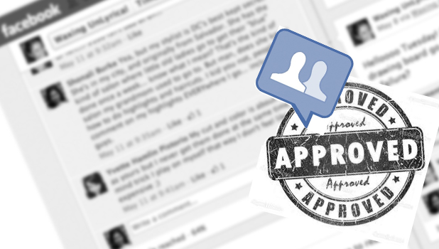 facebook approve group messages