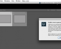 Lightroom Version 5 GeoLocation Tagging