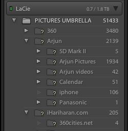 Lightroom 5 Find Missing Folder
