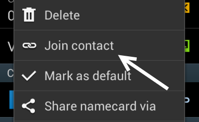 samsung android join contact