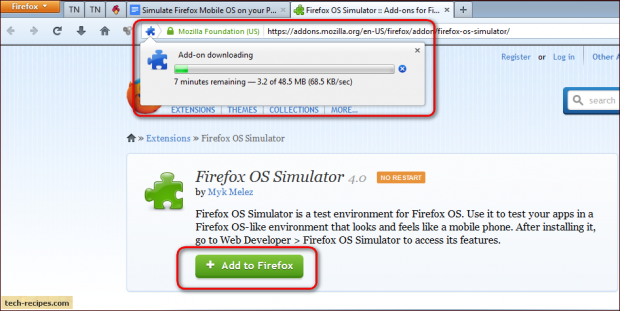 Mozilla Firefox: Simulate Firefox Mobile OS on your PC