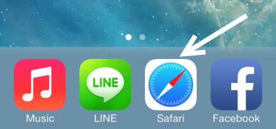 launch iOS Safari