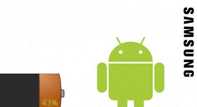 samsung android battery percentage