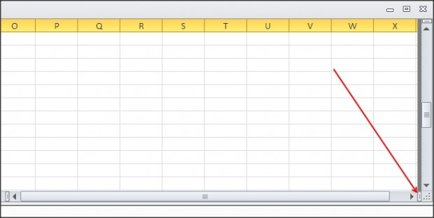 split window in excel