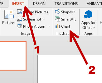 insert chart to powerpoint presentation