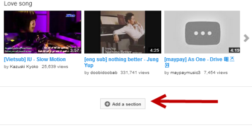 YouTube: Edit or Rearrange Channel Sections