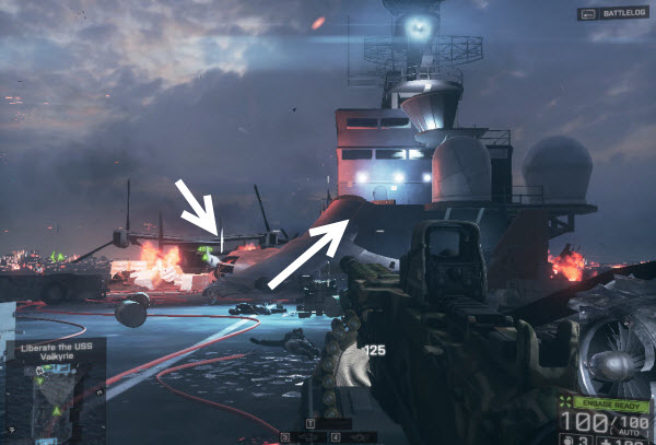Dog Tag: Rebel location in final mission BattleField 4