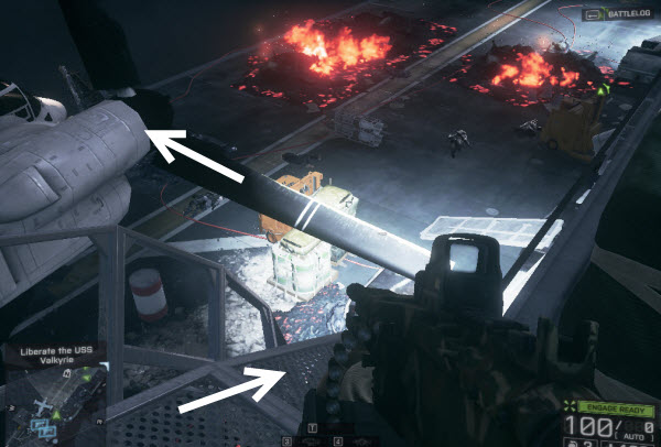 Dog Tag: Rebel location in final mission BattleField 4