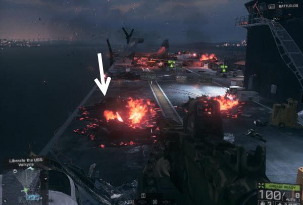 Weapon: AK - 5C location in final mission BattleField 4