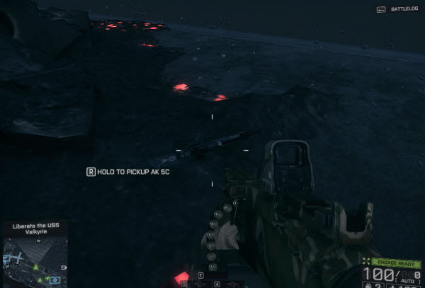 Weapon: AK - 5C location in final mission BattleField 4