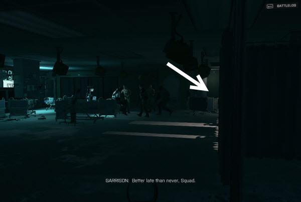 Dog Tag: Fleet Guardian location in final mission BattleField 4