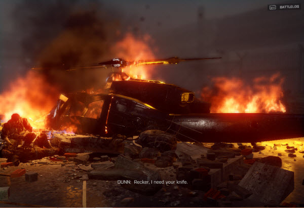Dog Tag: Sergeant Dunn location in mission 1 BattleField 4