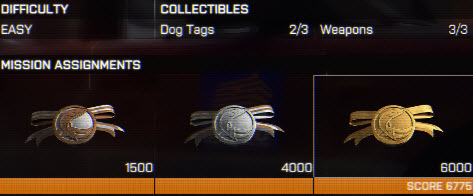 collectible task in BattleField 4
