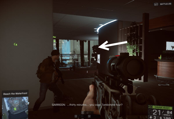 Weapon RFB location in mission 2 BatteField 4