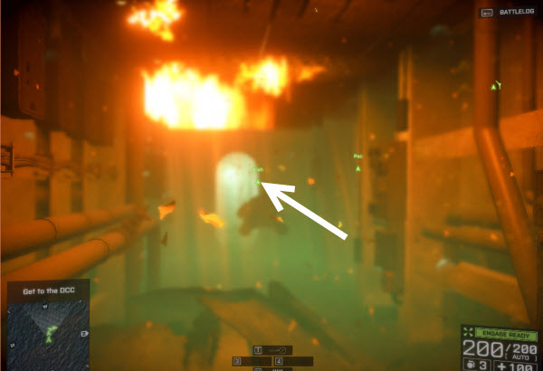 Dog Tag: Lord of the Waves location in mission 3 BattleField 4