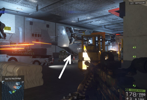 Weapon SPAS-12 location in mission 3 BattleField 4