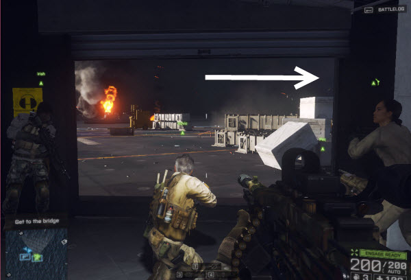 Dog Tag: Agent Kovic location in mission 3 BattleField 4