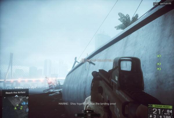 Dog Tag: Horizontal Rain location in mission 4 BattleField 4
