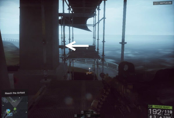 Weapon SCARH - SV location in mission 4 BattleField 4
