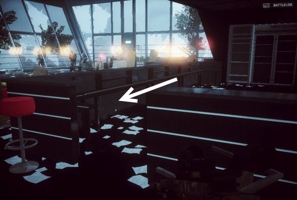 Dog Tag Armored Column location in mission 4 BattleField 4