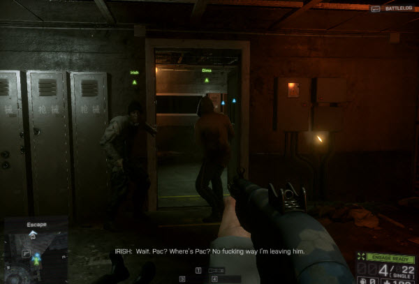 Dog Tag: Cage Fighter location in mission 5 BattleField 4