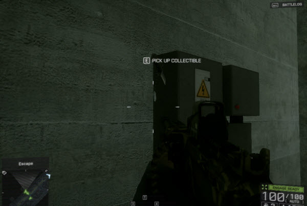 Dog Tag: Freedom at any Cost location in mission 5 BattleField 4